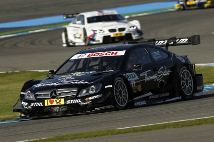 Gary Paffett - in with a shot at the title (Image credit: DTM Media)
