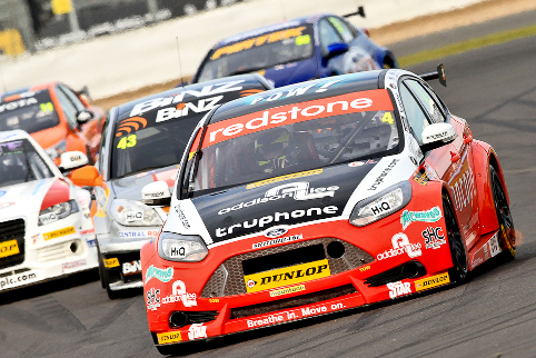 Mat Jackson charged through the field to win at Silverstone (Photo Credit: Chris Enion/Octane Photographic)