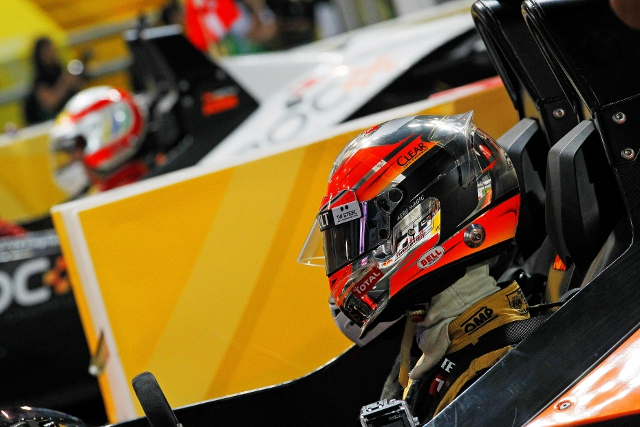 Grosjean defeated Tom Kristensen in the final (Photo Credit: Race of Champions)