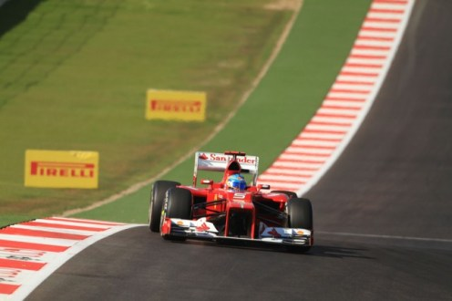 Fernando taking the F2012 beyond its limits this season (Image credit: Octane Photographic)