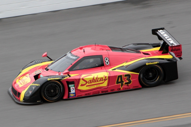 Dane Cameron was the fastest man of the day in Team Sahlen's #42 BMW-Riley (Photo Credit: Grand-Am)