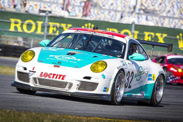 Nick Tandy began his career as a Porsche works driver with pole for the Rolex 24 at Daytona (Photo Credit: Rolex/Stephan Cooper)
