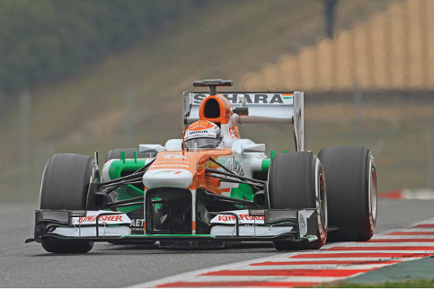 Was today the only time we will see Sutil in the Force India? Could he be on the grid in Australia? - Photo Credit: Octane Photographic