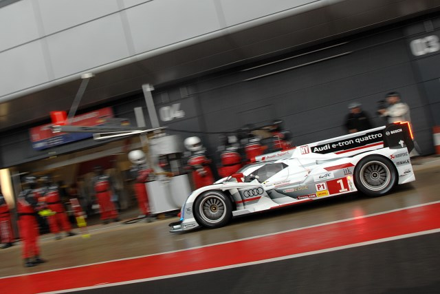 Lotterer went fastest before rain once again descended on Silverstone (Photo Credit: Chris Gurton Photography)