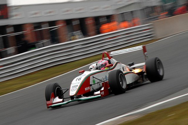 Powell dominated the first F3 Cup race at Oulton Park (Photo credit: Chris Gurton Photography)