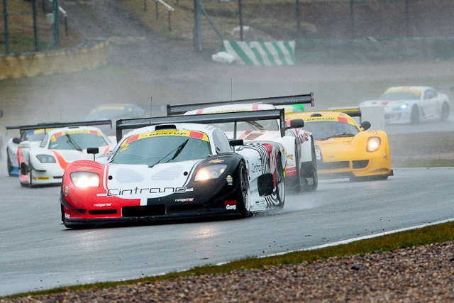 Manuel Cintrano and Javier Morcillo splashed to overall victory (Photo Credit: Octane Photographic Ltd)
