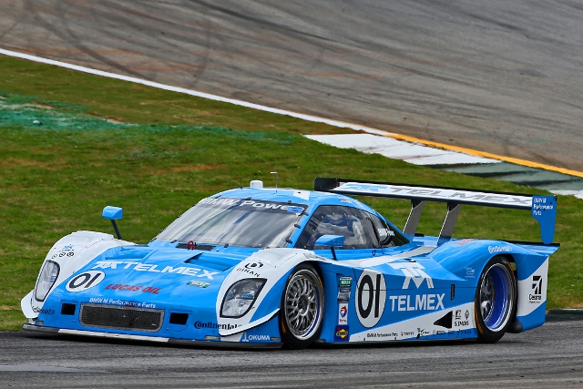 Rain at the track gave the Ganassi squad Rolex Series pole (Photo Credit: Grand-Am)