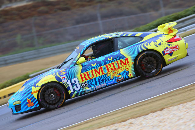 Matt Plumb took the lead for Rum Bum late on (Photo Credit: Grand-Am)
