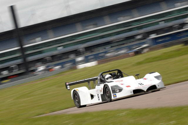 Sharpe suprised in taking pole from their Aston Martin rivals (Credit: Chris Gurton Photography)