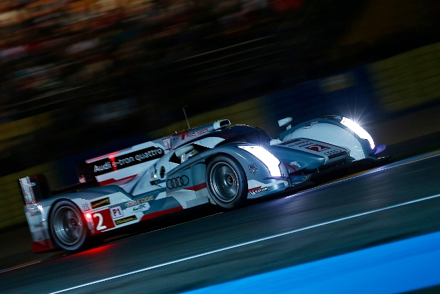 Duval failed to improve on his Thursday effort, but that was good enough to claim pole position (Credit: Audi Motorsport)