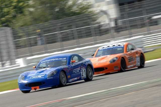 Pittard led plenty at Silverstone, but ended the weekend frustrated (Credit: Chris Gurton Photography)