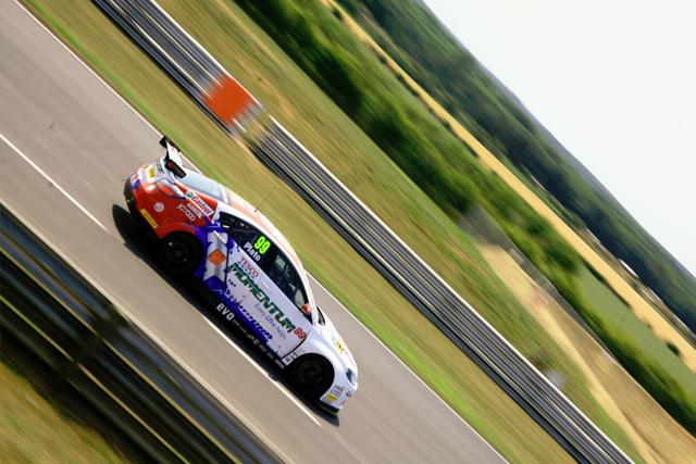 Plato Snetterton test 2013 BTCC