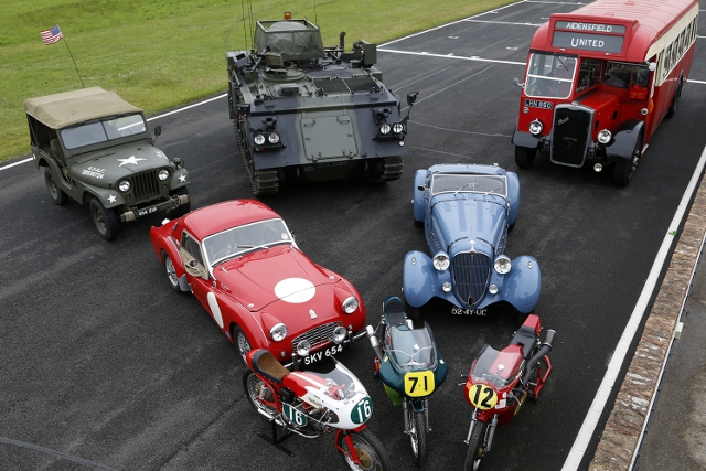 All sorts of historic machinery will be on display at the event (Credit: Croft Circuit)