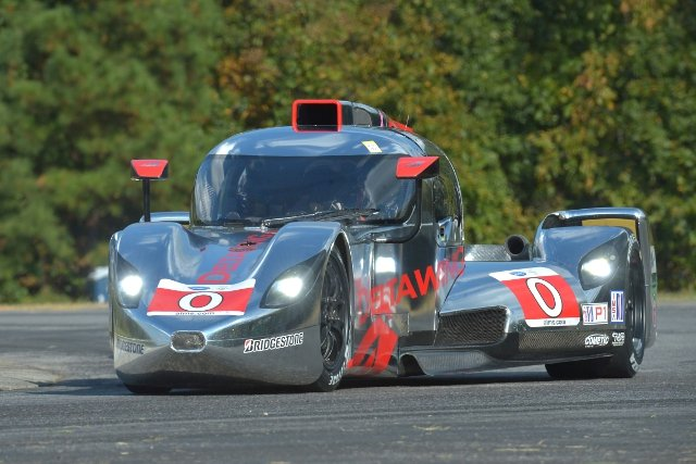 Dr. Panoz's DeltaWing Elan will close out the ALMS era at Petit Le Mans (Credit: Kelsi Nilsson)