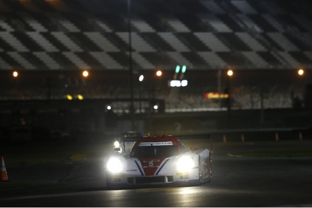 Action Express Racing were fastest again in the Saturday night session (Credit: IMSA.com)