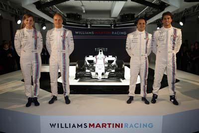 (Credit: Williams Martini Racing)