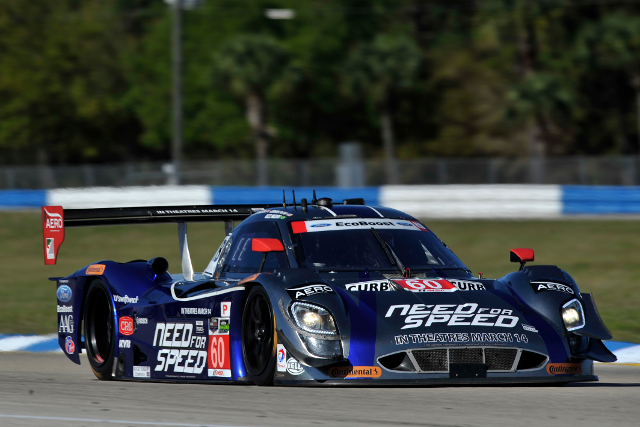 Ford powered DP led Corvett DP in the session (Courtesy of IMSA)