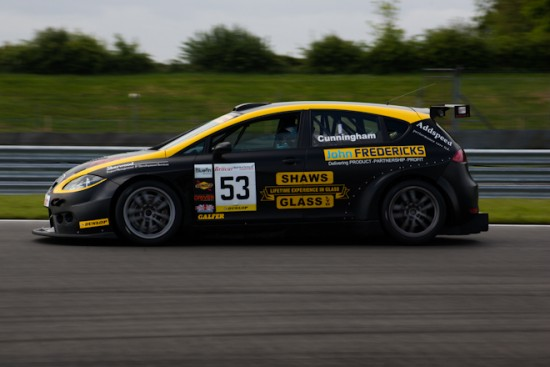 The father and son Cunninghams won the Touring Car portion of the race (Credit: Nicholas Smith)