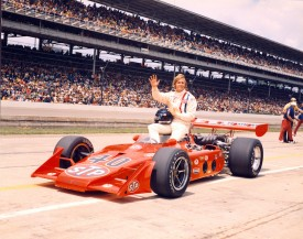 Swede Savage with his Eagle-Offenhauser (Credit: IndyCar Media)