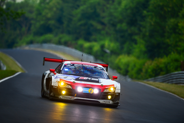 The #4 dominated the second half of the race (Image Credit: ADAC Zurich Nurburgring 24 Hours)