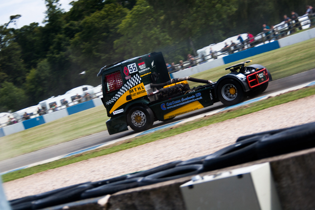 Graham Powell took double victory in class 2 (Credit: Nick Smith/The Image Team)
