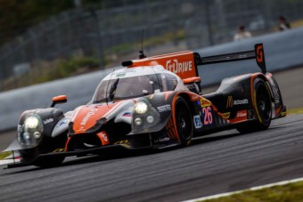 Roman Rusinov (RUS) / Olivier Pla (FRA) / Julien Canal (FRA) / drivers of car #26 LMP2 G-Drive Racing (RUS) Morgan-Nissan Free Practice 3 at Fuji Speedway - Shizuoka Prefecture - Japan