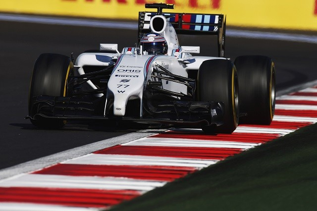 Valtteri Bottas was on the podium in Russia for Williams Martini Racing (Credit: Glenn Dunbar/Williams F1)
