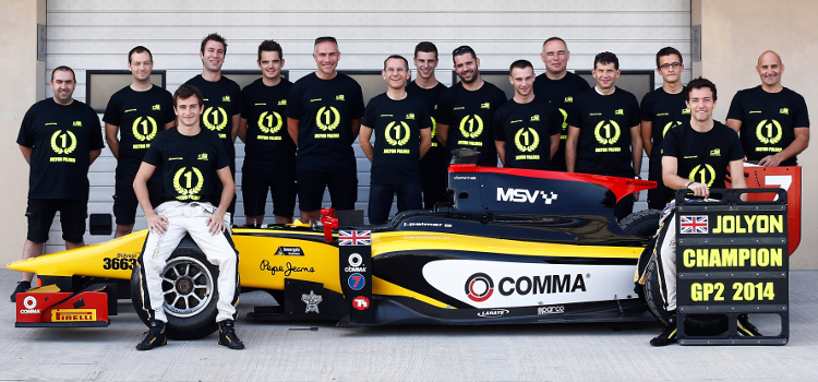 DAMS Took Their Third GP2 Title With Jolyon Palmer - Credit: Sam Bloxham/GP2 Series Media Service
