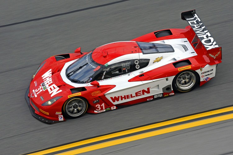 2014 Sunoco Wheelen Challenge winner Phil Keen helped his Corvette DP to the end of the race. (Credit: IMSA.com)