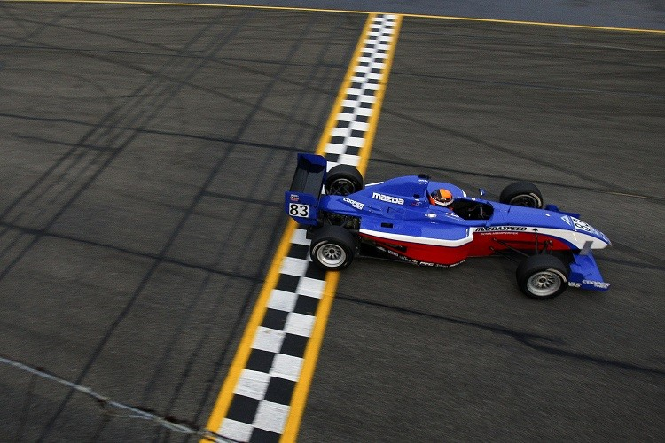 Matt Brabham dominated the 2013 Pro Mazda Championship (Credit: Dustin Worles/Flickr)
