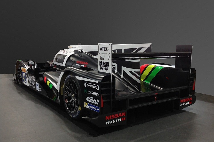 Another angle of the Strakka Racing S103 (Credit: Strakka Racing)