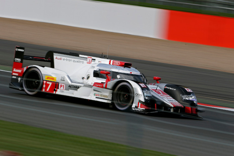 Benoit Treluyer set thee best lap of the day in the afternoon session (Credit: Audi Motorsport)