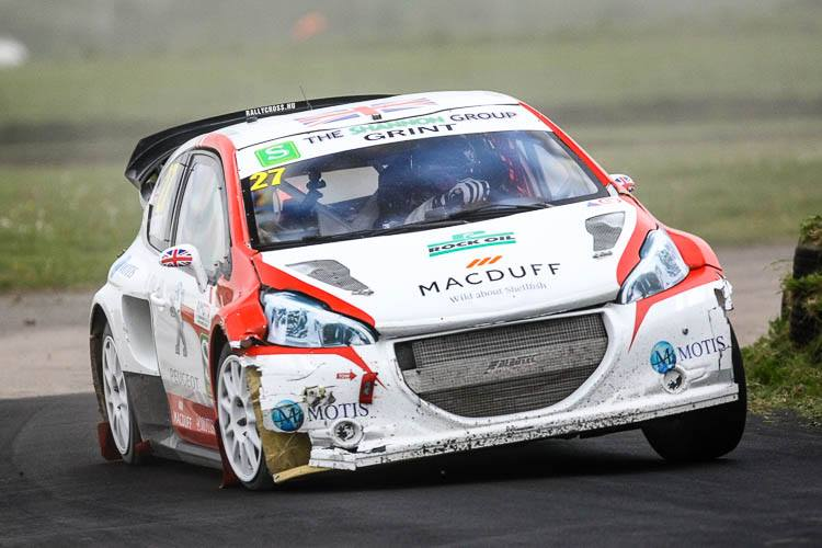 James Grint in action at Pembrey (Credit: Matt Bristow/www.rubberduckdoes.com)