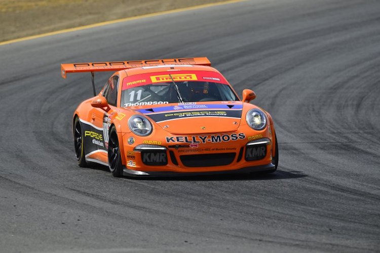 Thompson won 13 of 18 races in PWC GT Cup (Credit: WC Vision)