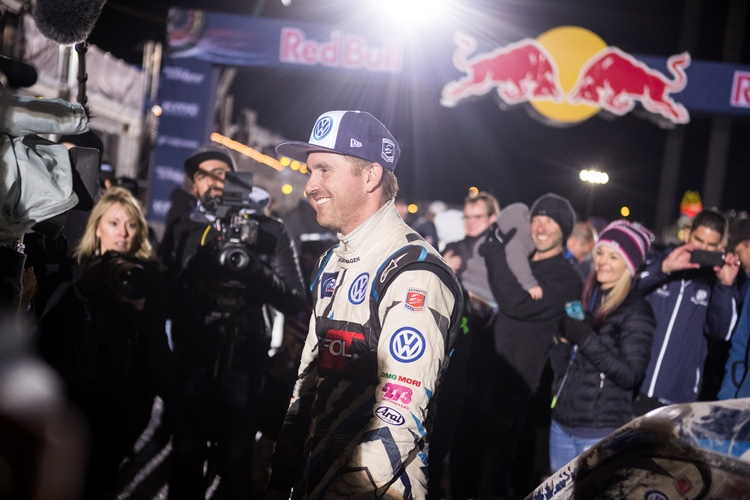 Scott Speed clinched the title for Volkswagen Andretti Rallycross - Credit: Chris Tedesco/Red Bull Content Pool