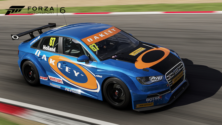 The addition of a handful of BTCC cars is a nice touch (Credit: Forza Motorsport)