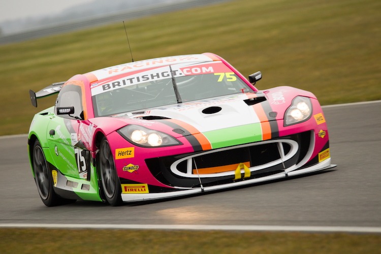 Team HARD have brought some colour to GT4 (Credit: Nick Smith/TheImageTeam.com)