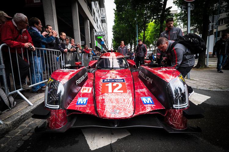 #12 REBELLION RACING (CHE) / DUNLOP / REBELLION R-ONE - AER Le Mans 24 Hour - Place de la Republique - Le Mans - France