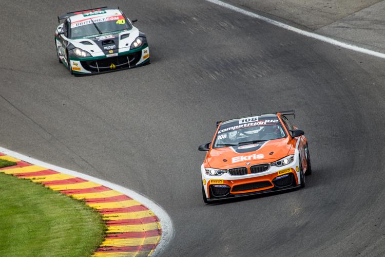 Ekris Motorsport had a good session (Credit: Nick Smith/TheImageTeam.com)