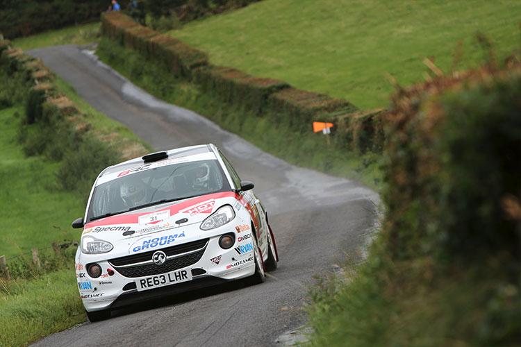 Mattias Adielsson - Credit: MSA British Rally Championship