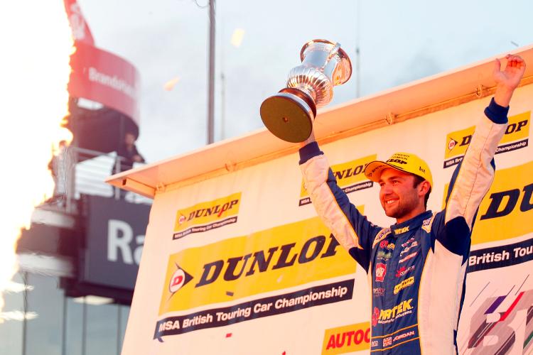 Andrew Jordan – 2016 Dunlop MSA British Touring Car Championship Independents Drivers Champion