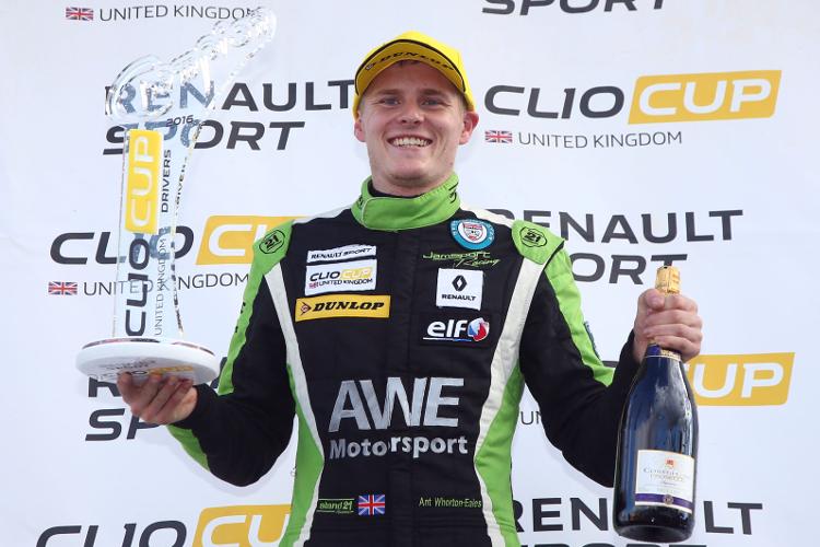 Ant Whorton-Eales – 2016 Renault UK Clio Cup Champion