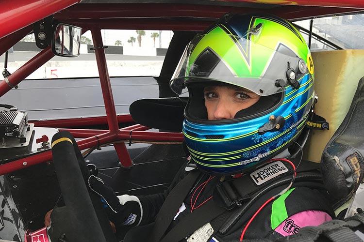 Adrianna Casoli - Credit: NASCAR Whelen Euro Series