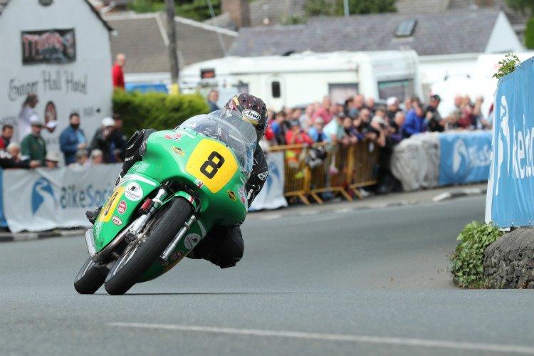 Josh Brookes at the Classic TT
