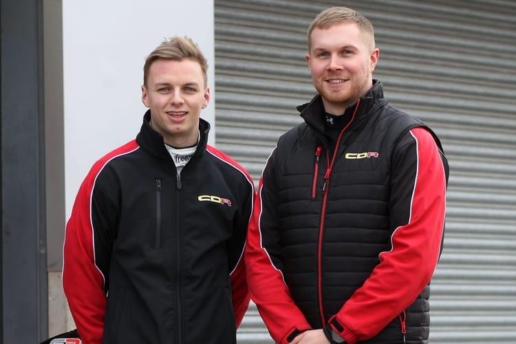 Harry Webb (left) Chris Dittmann (Right) CDR - BRDC F3