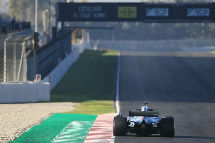 Mercedes completed over one thousand laps across the eight days of testing