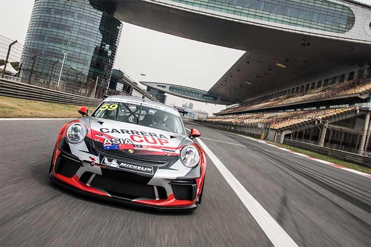 2018 Porsche Carrera Cup Asia