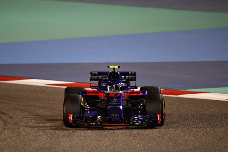 Pierre Gasly finished fourth in Bahrain