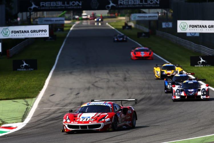 #71 Piergiuseppe Perazzini / Marco Cioci AF CORSE ITA Ferrari F488