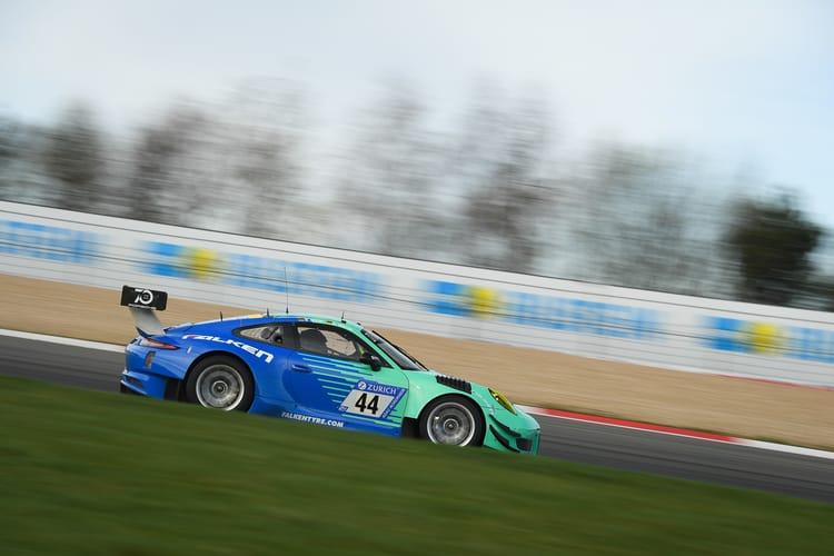 24 Stunden Nürburgring 2018, Qualifikationsrennen, Nürburgring-Nordschleife - Foto: Gruppe C Photography; #044 Porsche 911 GT3 R, Falken Motorsports: Sven Müller, Dirk Werner